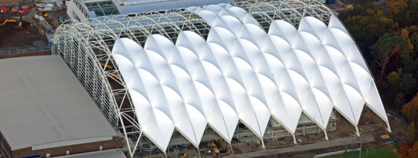 Oriam Scotland roof development